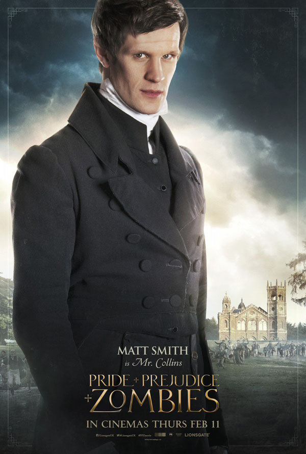 Pride and Prejudice and Zombies Matt Smith