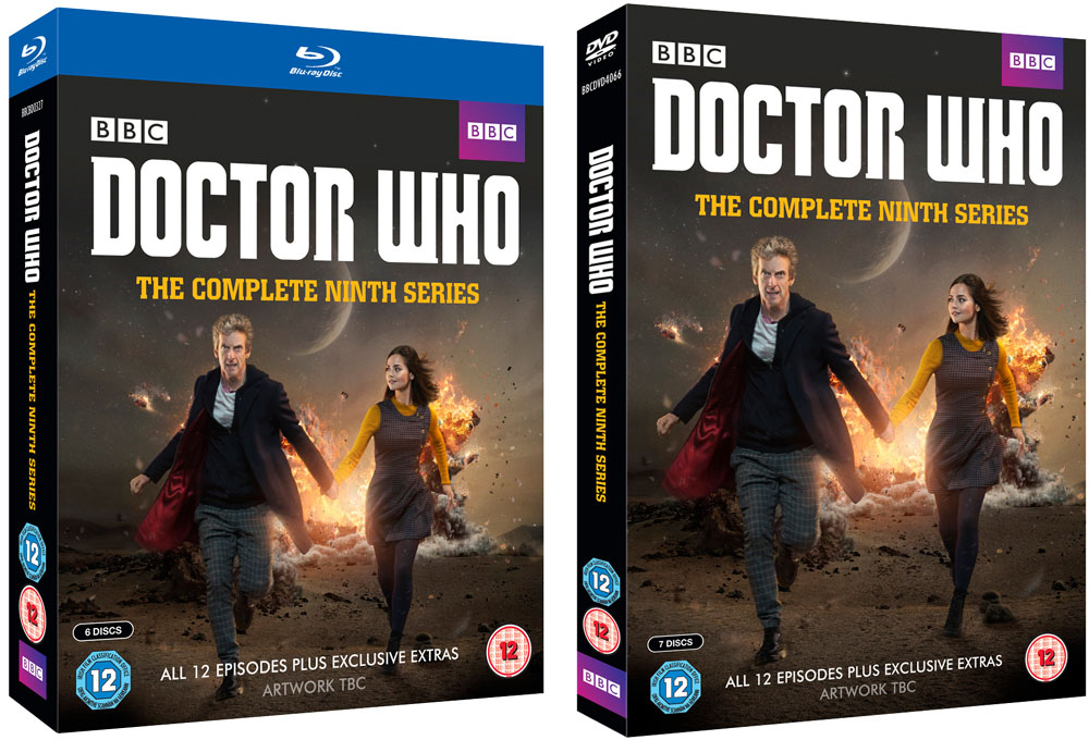 Doctor Who 9 blu dvd