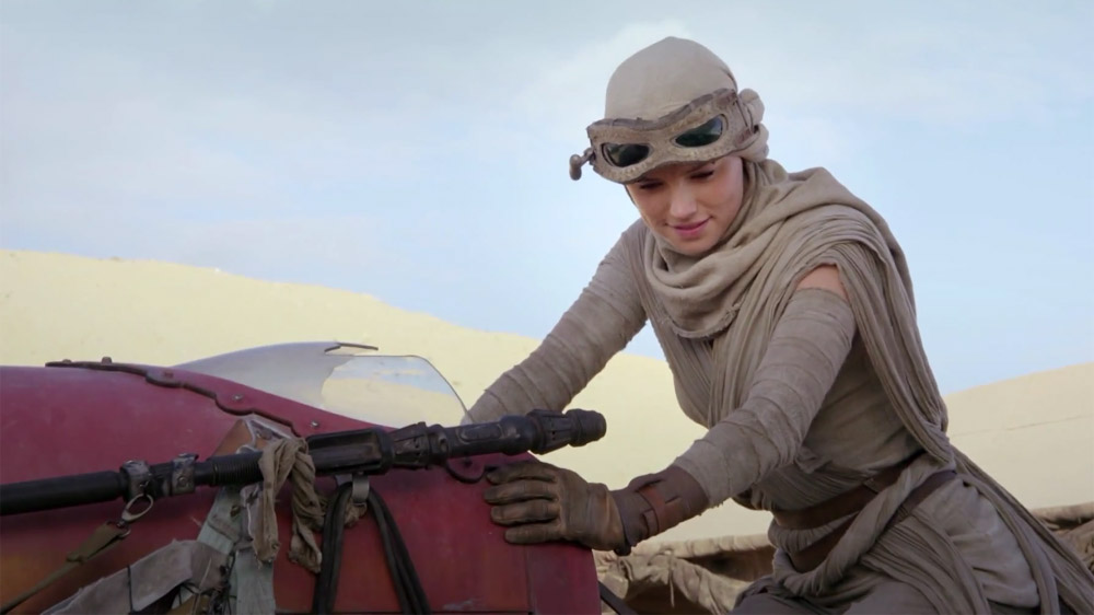 Star Wars: The Force Awakens Rey Daisy Ridley