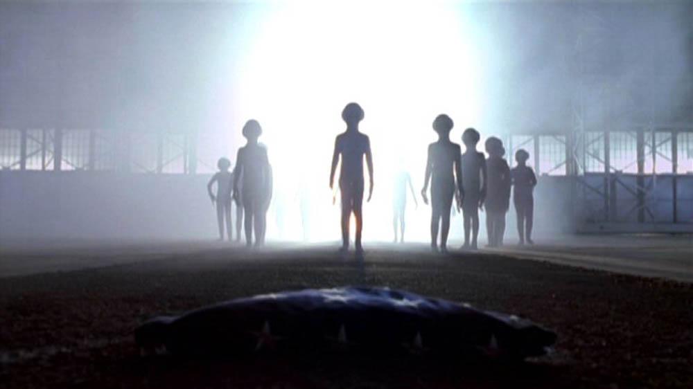 The X Files aliens