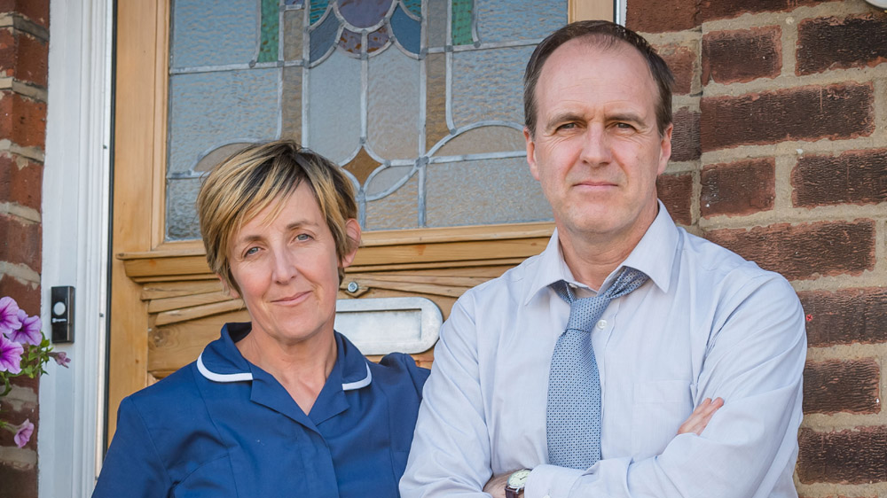 Happy Valley 2 Amanda Wadsworth (JULIE HESMONDHALGH), John Wadsworth (KEVIN DOYLE)
