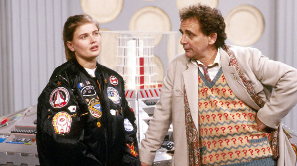 Sophie Aldred and Sylvester McCoy