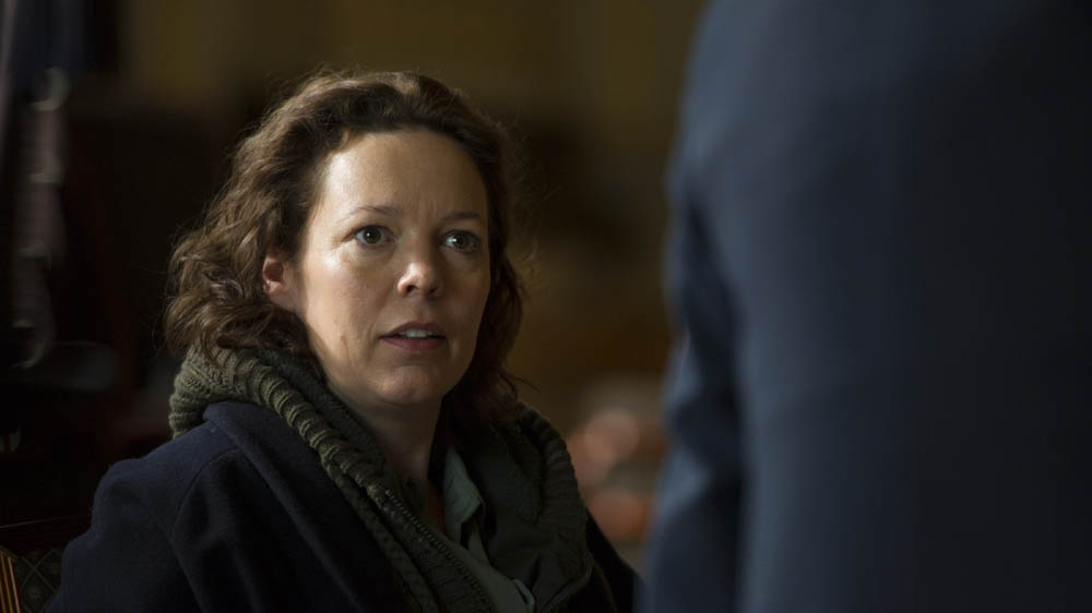 The Night Manager 1 Burr (OLIVIA COLMAN)