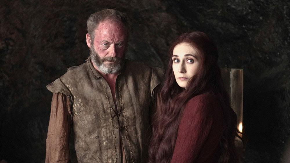 Game Of Thrones - Melisandre & Davos Seaworth Publicity Image