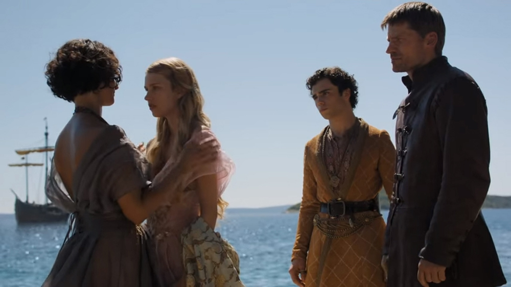 Game Of Thrones S05E10 - Jaime Leaves Dorne