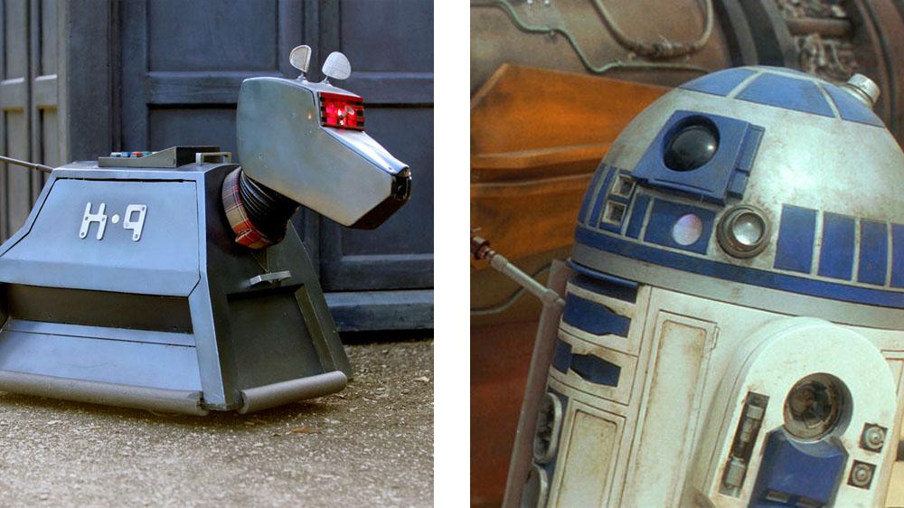 K-9 vs R2-D2