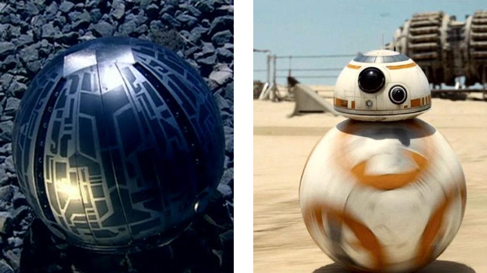 BB-8 vs a Toclafane