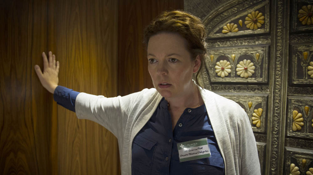 The Night Manager 1 6 Burr (OLIVIA COLMAN)