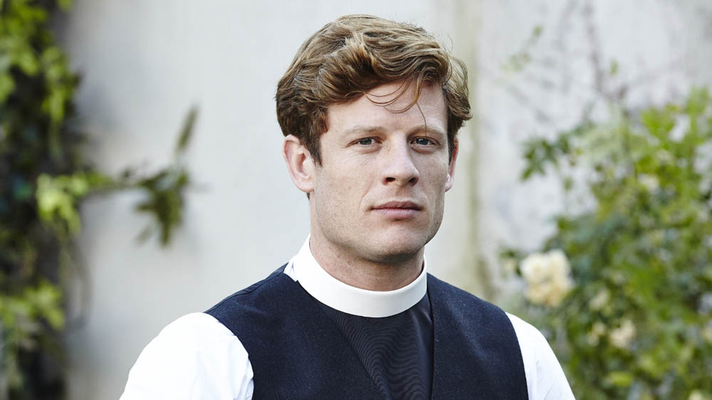GRANTCHESTER 2 JAMES NORTON as Sidney Chambers
