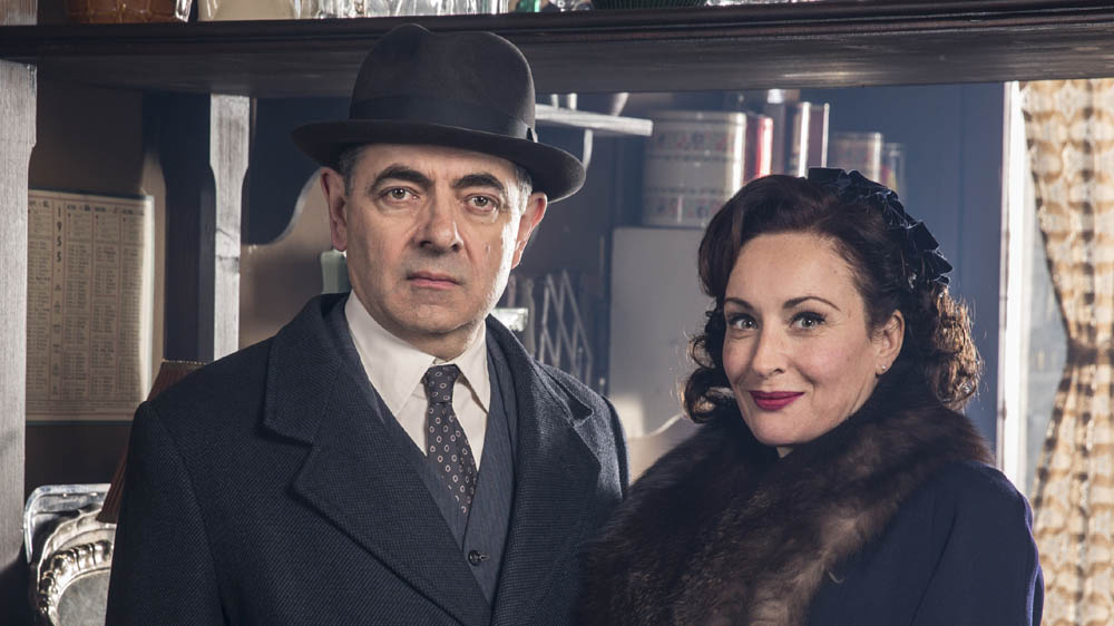MAIGRET SETS A TRAP ROWAN ATKINSON LUCY COHU as Madame Maigret