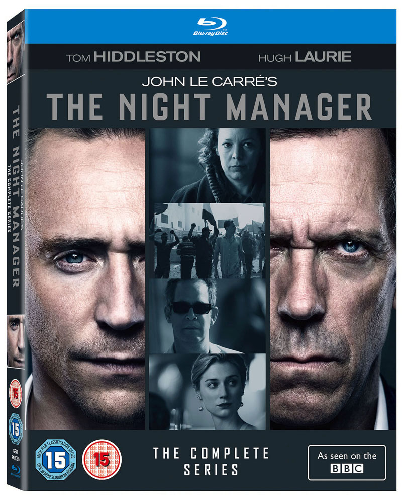 THE NIGHT MANAGER blu