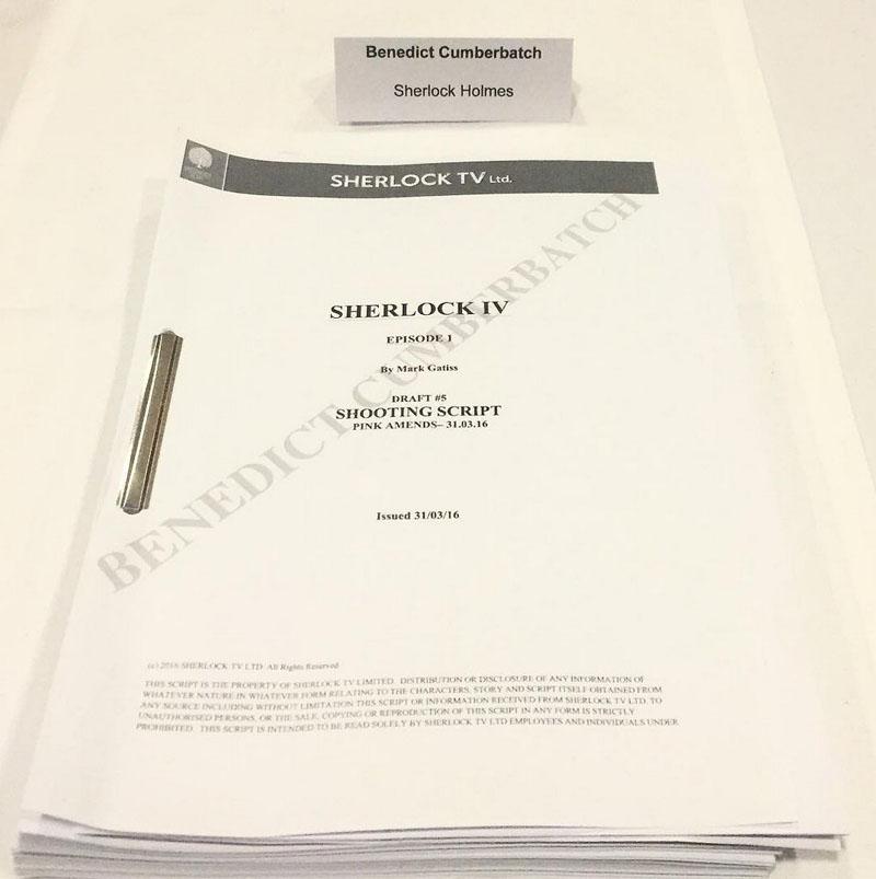 Sherlock 4 1 script