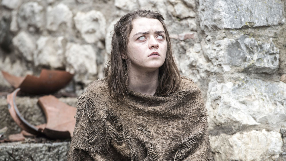 game of thrones 6 1 the red woman maisie williams arya