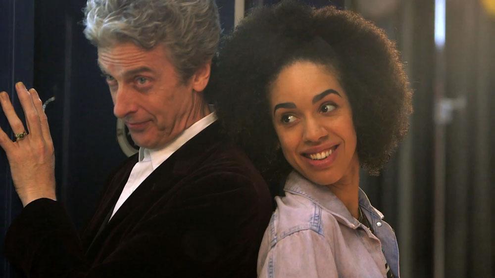 Doctor Who Bill Pearl Mackie Peter Capaldi