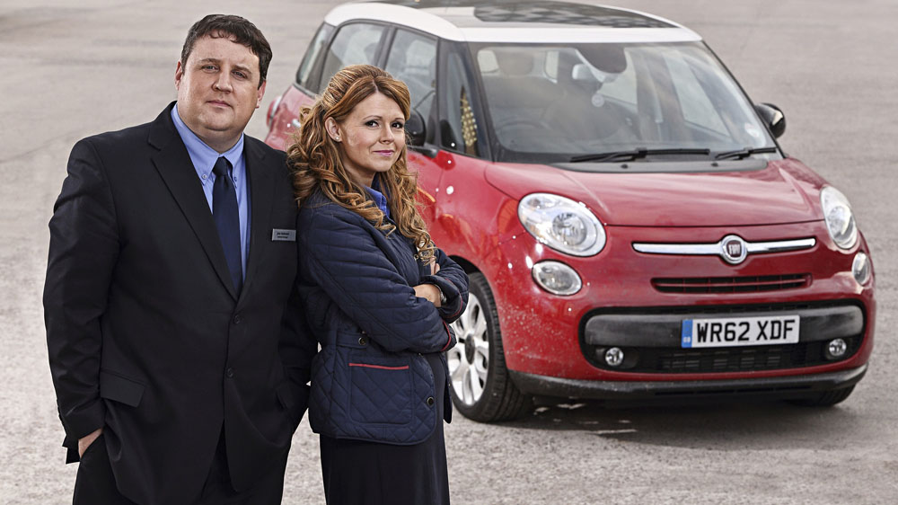 Peter Kay Sian Gibson Car Share