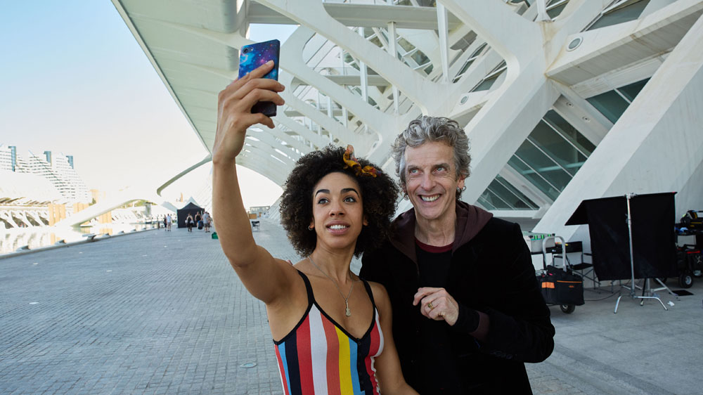 Doctor Who 10 2 Valencia Pearl Mackie Peter Capaldi Bill Twelfth