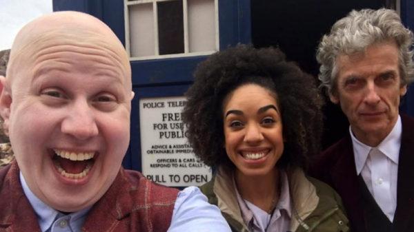 Matt Lucas Pearl Mackie Peter Capaldi TARDIS
