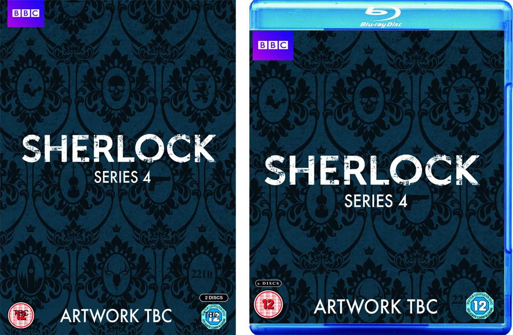 Sherlock 4 DVD blu-ray