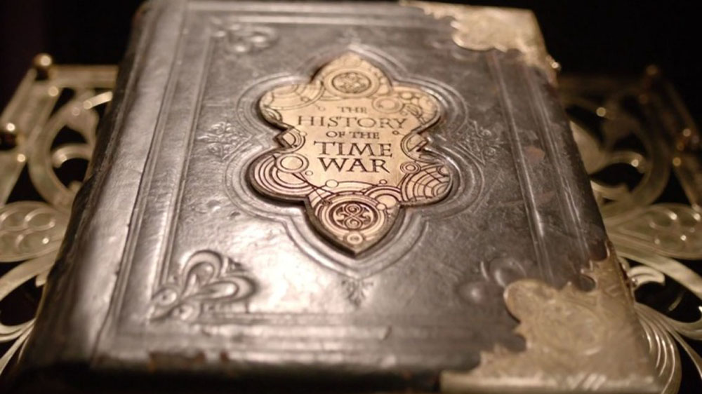 Doctor Who Journey to the Centre of the TARDIS The History of the Time War Book