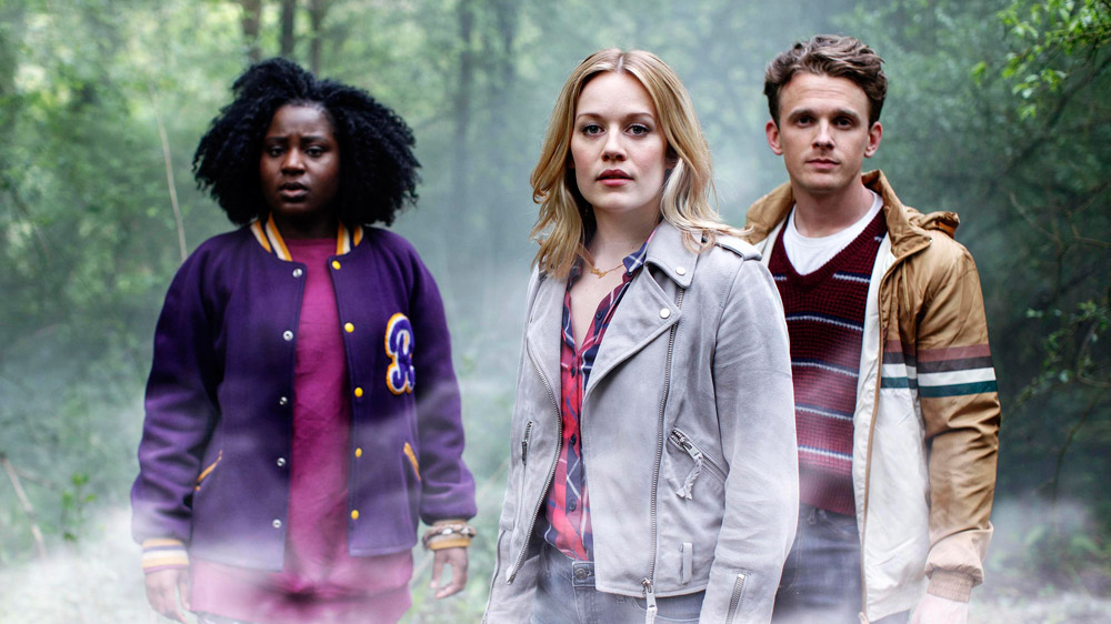 Crazyhead - Cara Theobold, Susan Wokoma and Lewis Reeves)