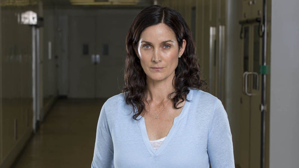 Humans 2 Dr Athena Morrow (Carrie Anne Moss)