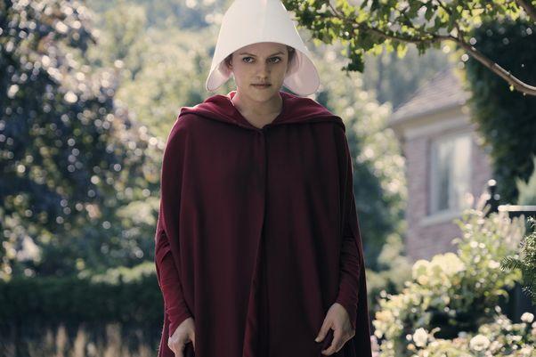 The Handmaid's Tale starring Elisabeth Moss
