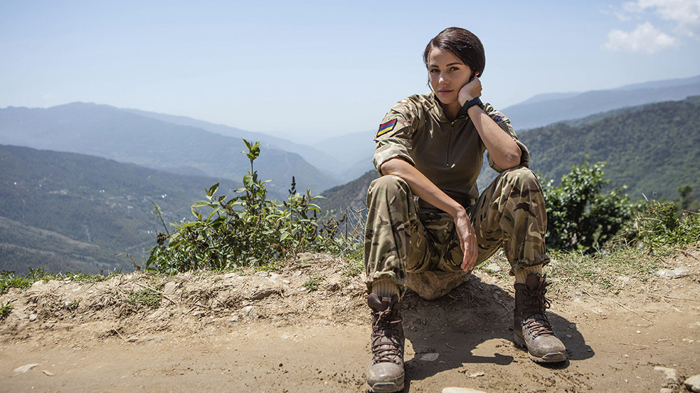 Michelle Keegan in Our Girl series 3