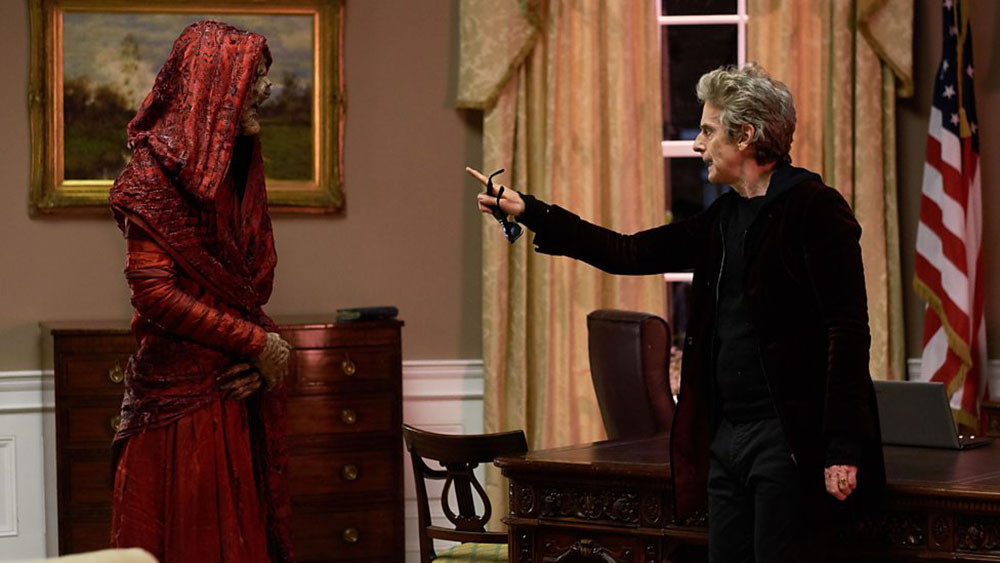Doctor Who Extremis Oval Office
