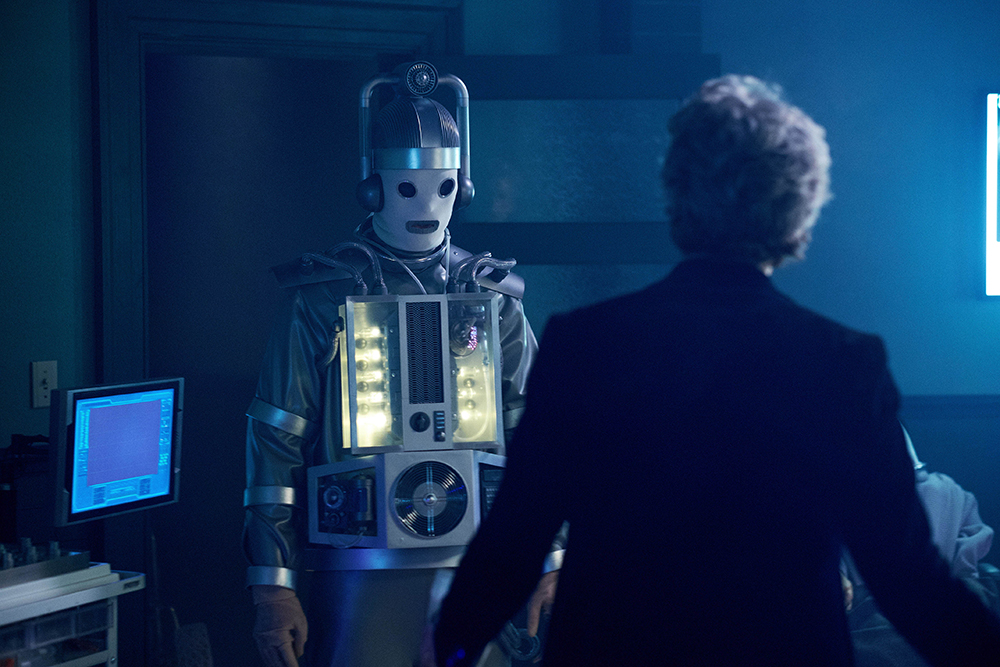 Doctor Who Cyberman stories