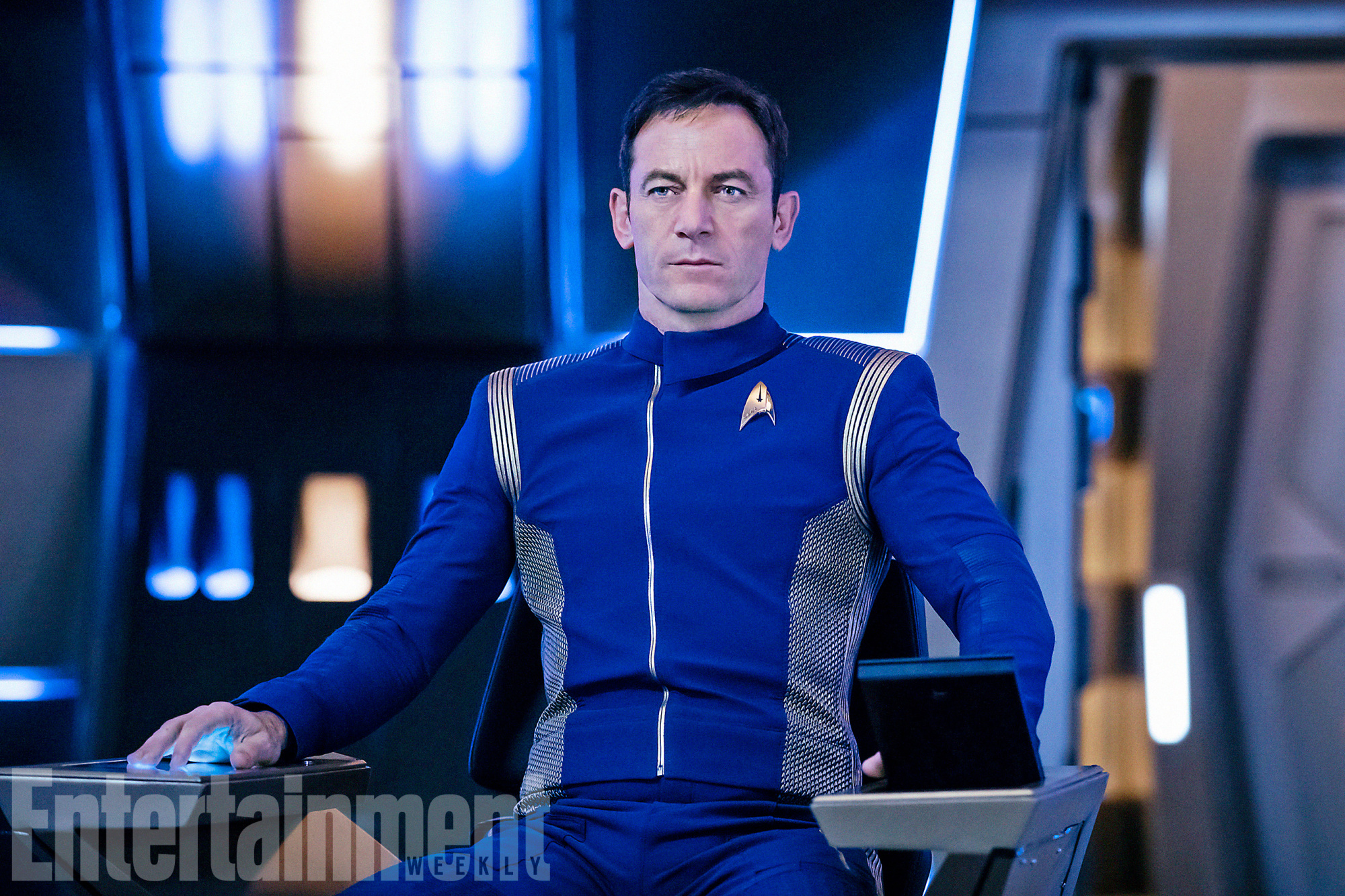 Captain Lorca (Jason Isaacs)