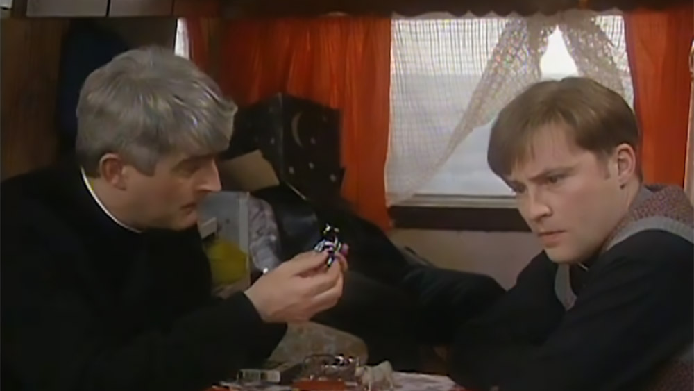 Father Ted Small Far away