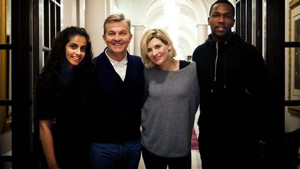 The Doctor Who series 11 main cast