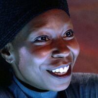 Whoopi Goldberg as Guinan in Star Tre: The Next Generation