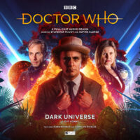 Doctor Who Dark Universe cover artwork