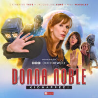 Donna Noble: Kidnapped! cover artwork
