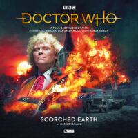 Doctor Who Scorched Earth cover art