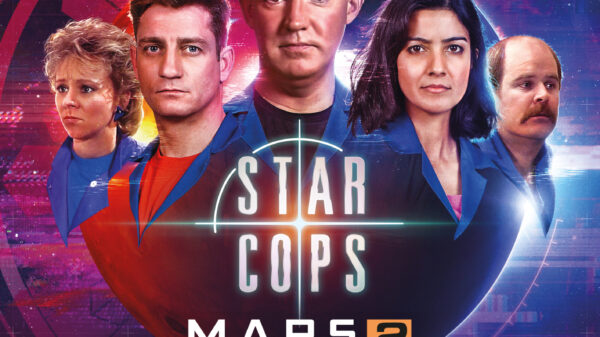 Star Cops - Mars Part 2 - cover