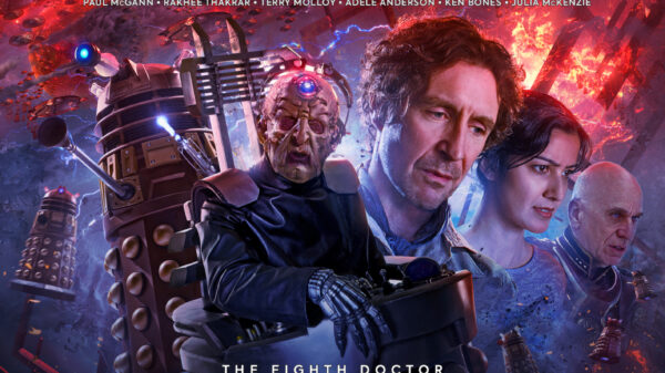 Doctor Who - The Eighth Doctor: Time War 4 cover art