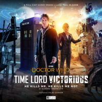 Doctor Who Time Lord Victorious He Kills Me, He Kills Me Not cover art