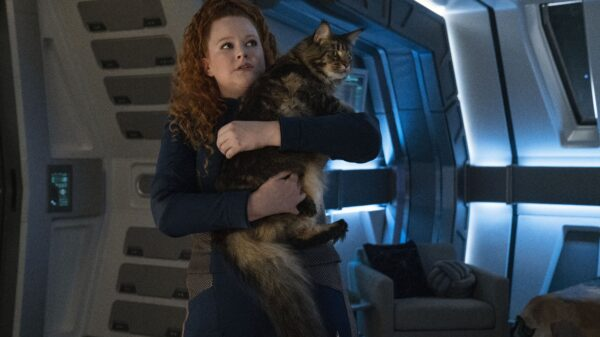 Scavengers Star Trek Discovery Tilly and Cat