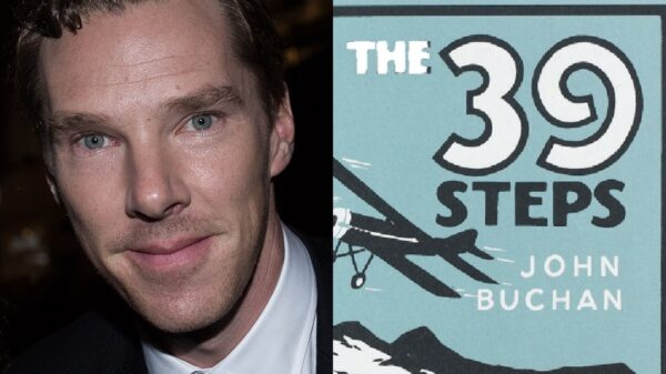 39 Steps Series Benedict Cumberbatch