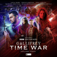 Gallifrey Time War 4 cover art