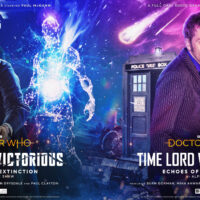 Doctor Who Time Lord Victorious: Echoes of Extinction Vinyl cover art
