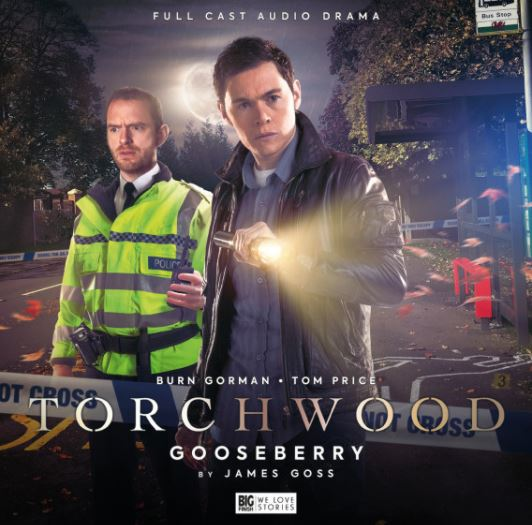Cover of the Big Finish audio release Torchwood: Gooseberry
