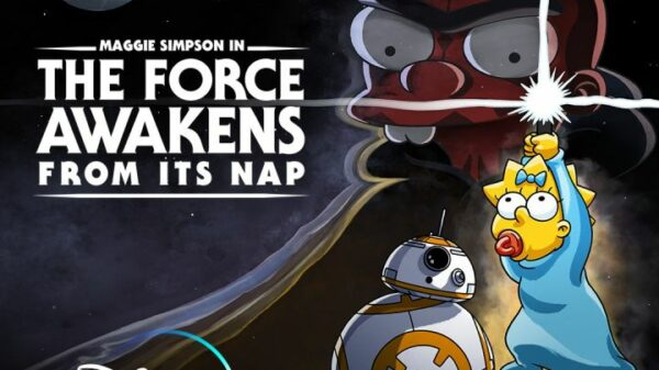 Star Wars Simpsons crossover