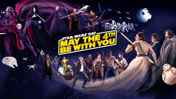 Disney+ Star Wars Day fan art takeover 2021
