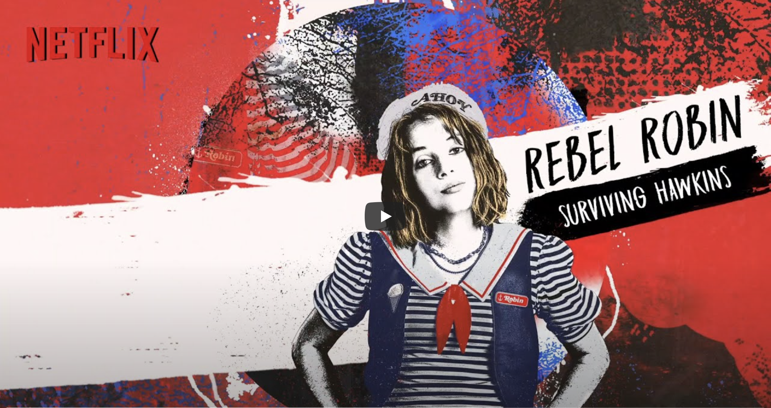 Stranger Things Rebel Robin — Surviving Hawkins