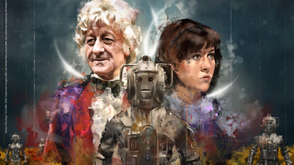 Doctor Who: Scourge of the Cybermen cover art