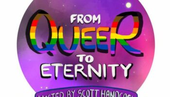 From Queer to Eternity Podcast logo
