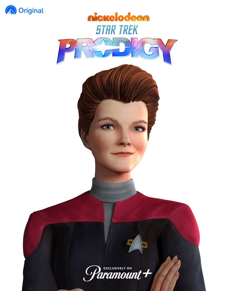 Janeway in Star Trek Prodigy